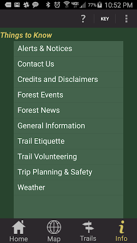 android Conasauga Ranger District Screenshot 6