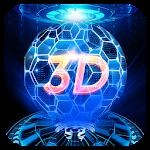 3D Hologram Tech Theme Icon