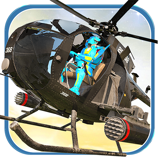 Super Helicopter Monster Hero