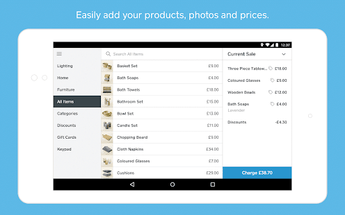 Square Point Of Sale POS Apps On Google Play - How to use square invoice