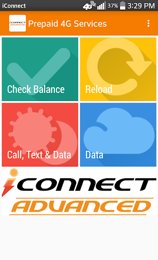 iConnect Advanced Prepaid 4G