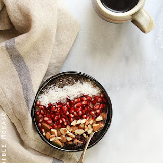 10-Minute Cinnamon Raisin Brown Rice Breakfast Porridge {Gluten-Free; Vegan}