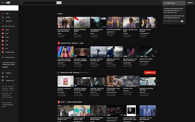 Youtube New Layout