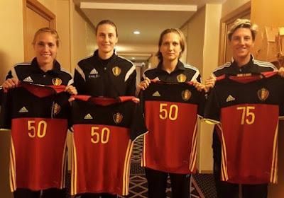 Jubileumtijd voor Belgian Red Flames