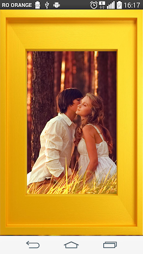 Yellow Photo Frames