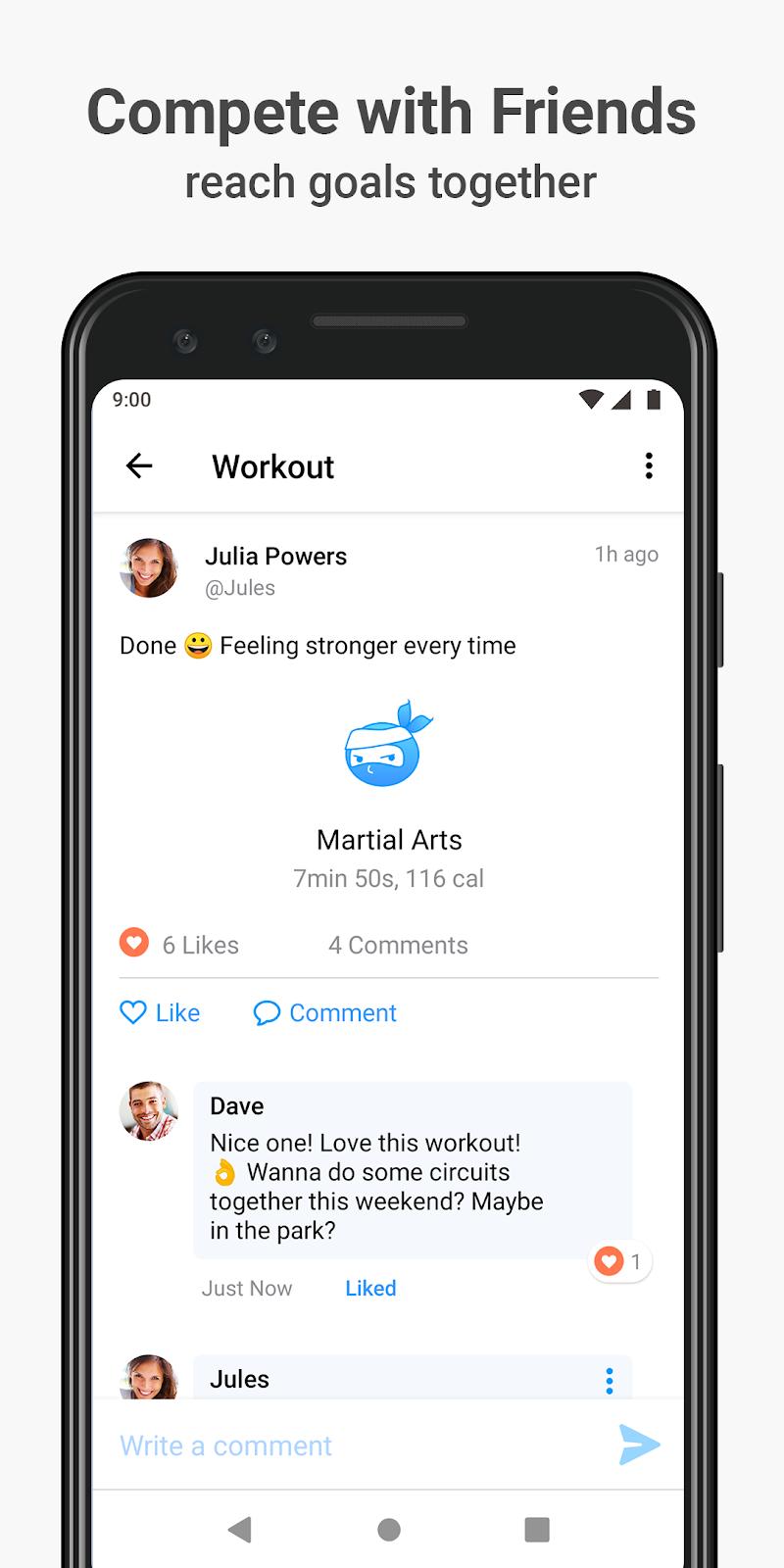 Seven - 7 Minute Workout Screenshot 4