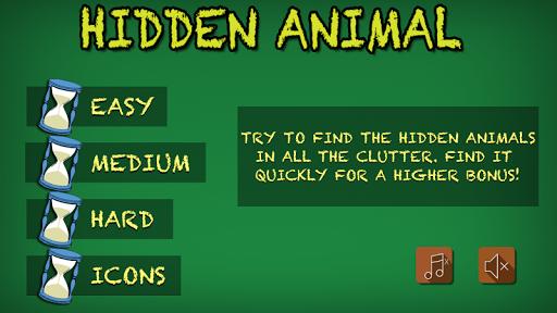 Hidden Animal for Kids