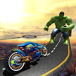 Incredible Monster Hero: Sci Fi Bike Adventure Icon