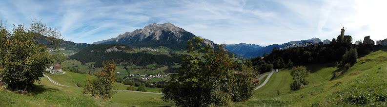 Photo: STierva - Panorama im Frühherbst