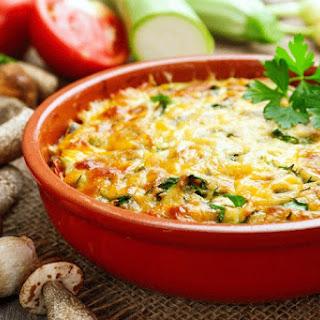 Black Bean Casserole with Cilantro-Cornbread Topping Recipe
