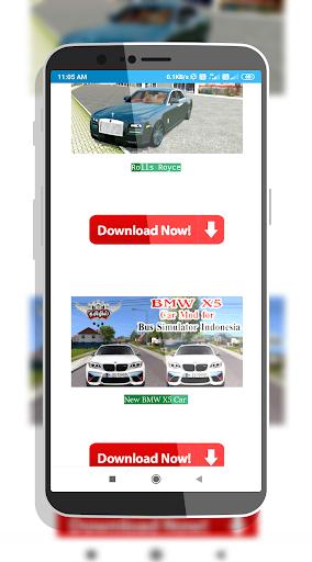 Car Mod Bus Simulator | Indonesia Bus Simulator android2mod screenshots 4