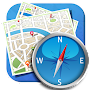 Compass – Navigation, Directions & Maps. APK icon