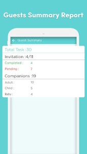 Event Planner – Guests, To-do, Budget Management 5