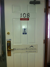 Photo: Mortgage Financial in Tewskbury, MA proudly displaying their BBB Accreditation.