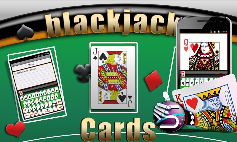 Скриншот SlideIT Blackjack Cards Skin