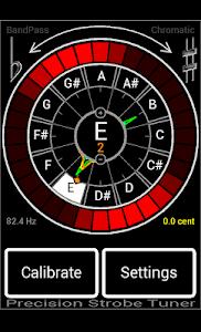 Precision Strobe Tuner Demo screenshot 0