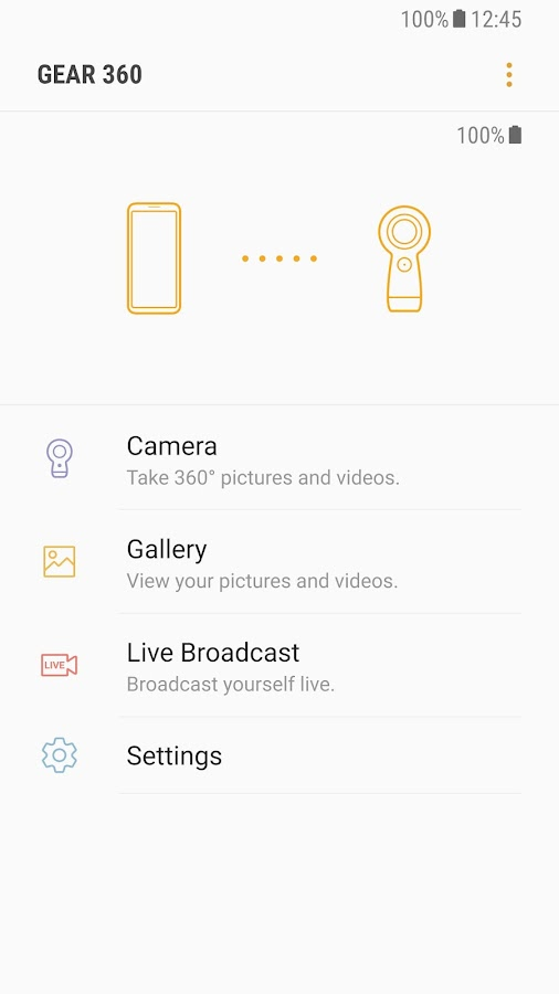 Samsung Gear 360 (New)- screenshot