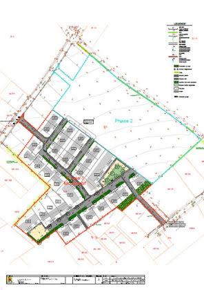 Vente terrain à bâtir 544 m2
