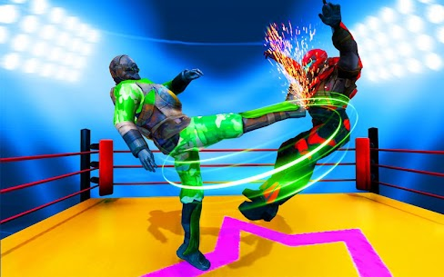 Futuristic Robot Ring Fighting 2020 5