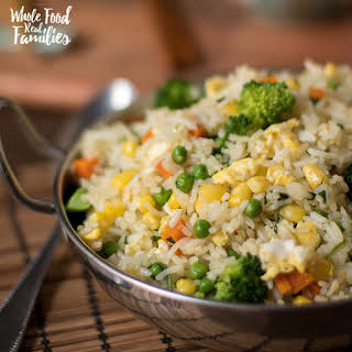 Healthy Vegetable Fried Rice.