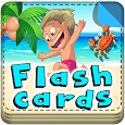 Learn english by flash cards icon
