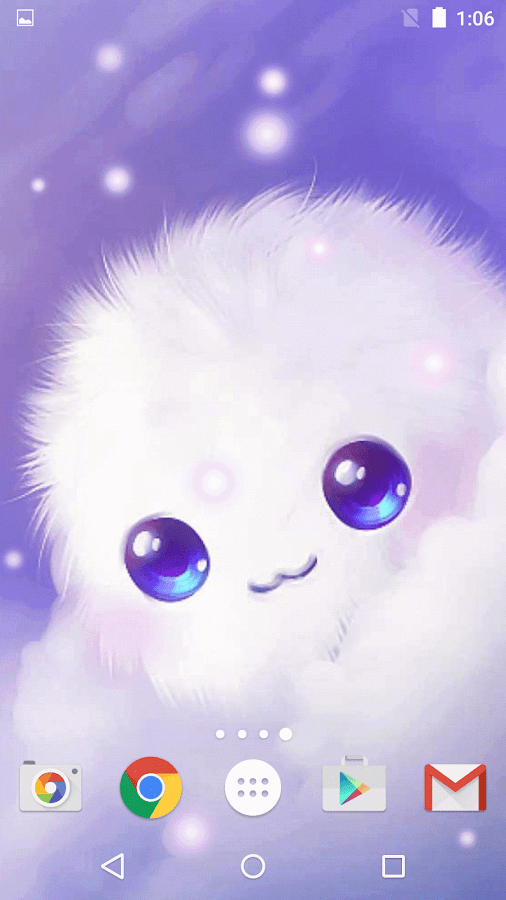 Animated Weather Wallpaper Iphone Cute Girly Live Wallpapers Hd Android Apps On Google Play