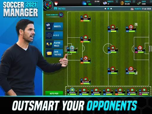Soccer Manager 2021 - Football Management Game screenshots 10