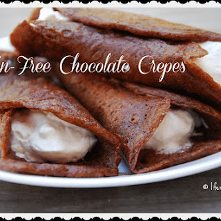 Grain Free Chocolate Crepes