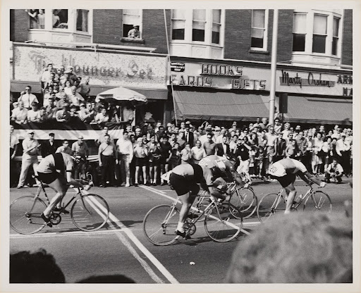 Sommerville Memorial Day Race May 1963 [bicycles]