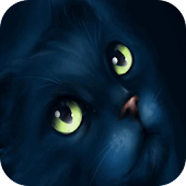 Black cat Live Wallpaper