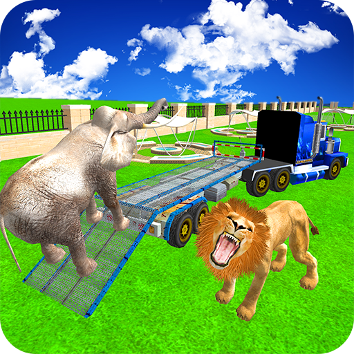 Zoo Animals Transport Truck 3d