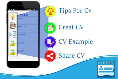 easy cv maker pro resume maker for fresher jobs screenshot thumbnail