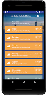 Weather Forecast Pro: Timeline, Radar, MoonView 3.20.03.14 Mod + Data for Android 3