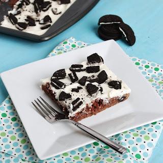Cookies & Cream Sheet Cake