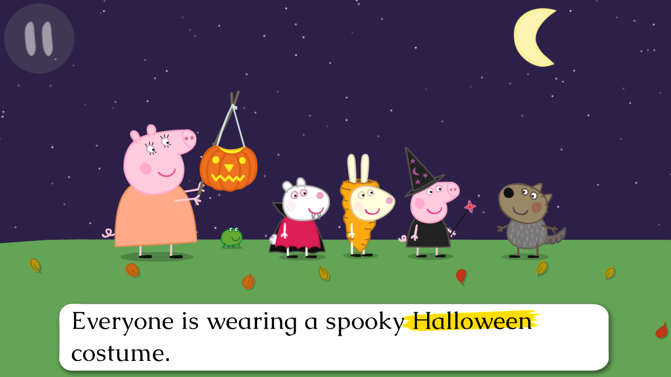 Peppa Pig Book: Pumpkin Party - Android Apps on Google Play