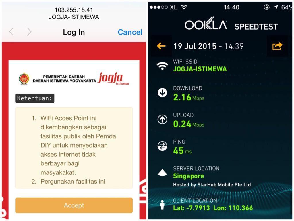Wifi Gratis Yogyakarta
