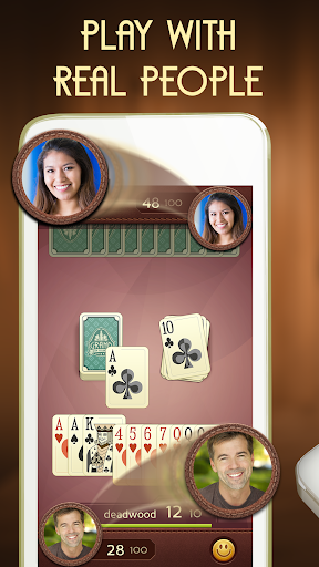 Grand Gin Rummy - Free Card Game With Real People Screenshot