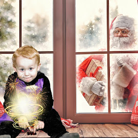 Merry Christmas everyone x  by Mark  Harris - Digital Art People