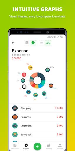 Money Lover: Expense Manager & Budget Tracker 4.2.2.2020100704 Screenshots 4