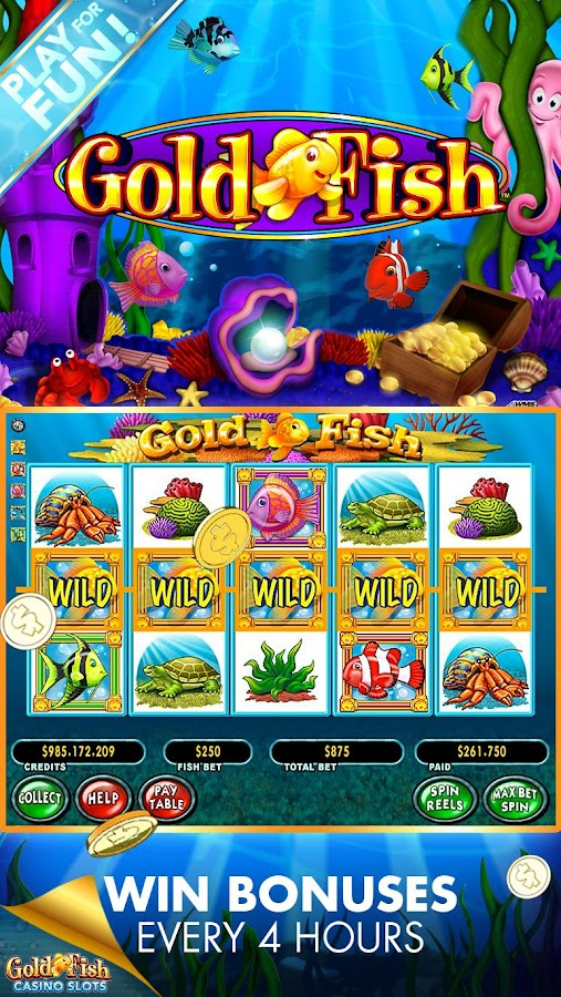 Gold fish casino slot machines android apps on google play for Fish casino slot