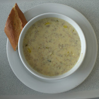 Quick and Easy Cheese Burger Chowder