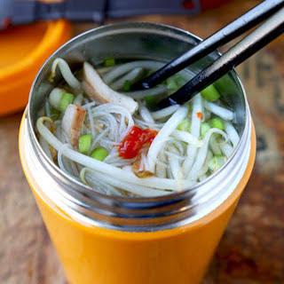 Thai Noodle Soup in a Cup.
