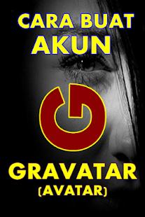 CARA BIKIN AKUN GRAVATAR (Avatar) - náhled