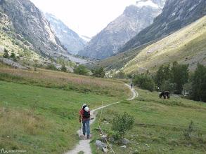 Photo: El camino inicialmente es suave y placentero