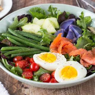 Smoked Salmon Niçoise Salad