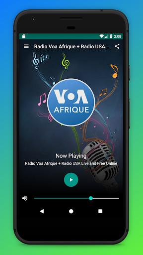 Radio Voa Afrique + Radio USA Live and Free Online screenshots 1
