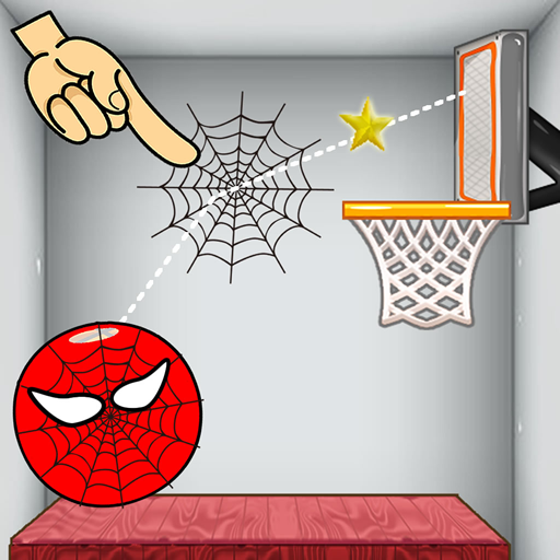 Spider Basketball Game