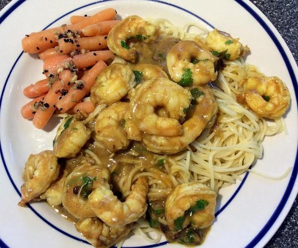 Coriander-curry Shrimp Recipe