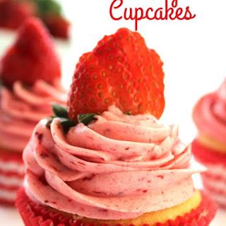 Strawberry Pie Cupcakes
