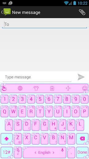 Valentine 6 TouchPal Keyboard